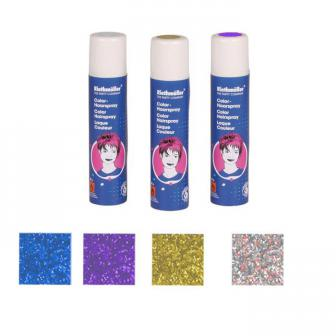 Glitzer-Haarspray auswaschbar 100 ml-bunt