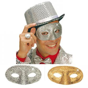 """Glitzernde Augenmaske """"Glamour"""""""