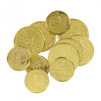 "Goldmünzen ""Pirat"" 12-tlg."