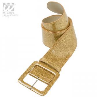 "Gürtel ""Glitzer & Glamour""-gold"