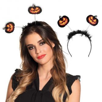 "Haarreif ""Creepy Pumpkin"""
