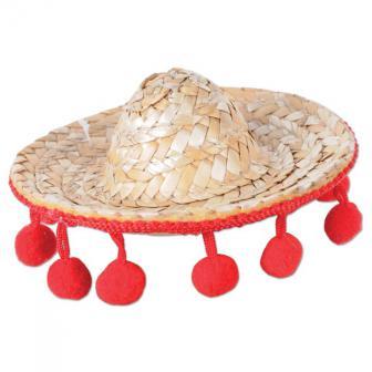 """Haarspange """" Sombrero Mexiko"""" 8 cm"""