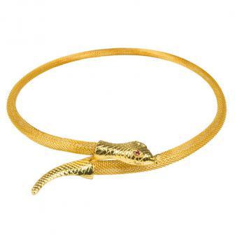 "Halskette ""Goldene Schlange"""