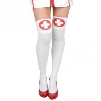 Halterlose Strümpfe Krankenschwester