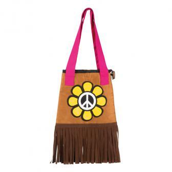 """Handtasche """"Bunte Hippie-Power"""" 52 cm"""