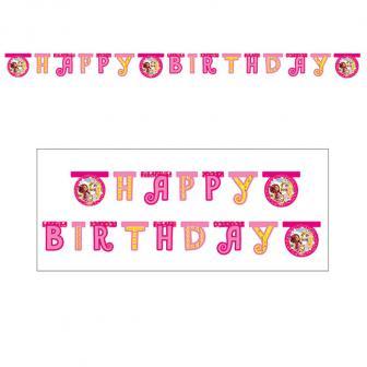 """Happy Birthday-Girlande """"Mia and Me"""" 180 cm"""