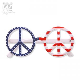 """Hippie-Brille """"USA"""""""