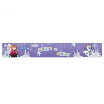 """Holographisches Banner """"Frozen - Schneegestöber"""" 3er Pack"""