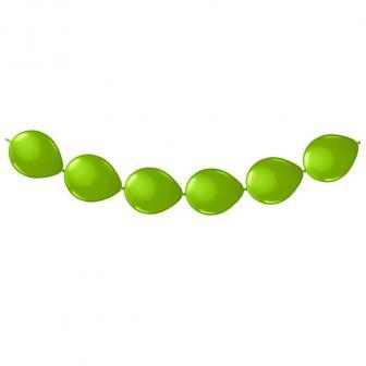 Ketten-Luftballons 3 m-apfelgrün