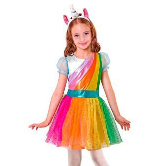 """Kinder-Kostüm """"Bezauberndes Einhorn"""" 2-tlg."""