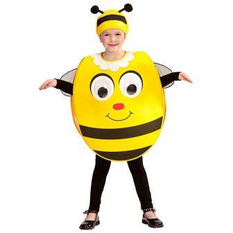 """Kinder-Kostüm """"Biene mit Wackelaugen"""" 2-tlg. - 2-4 Jahre"""
