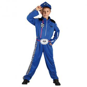 """Kinder-Kostüm """"Autorennen Mechaniker"""" 3-tlg."""