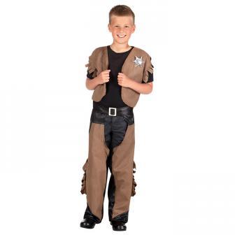 "Kinder-Kostüm ""Mutiger Cowboy"" 3-tlg."