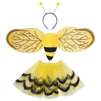 "Kinder Kostüm-Set ""Süße Biene"" 3-tlg."