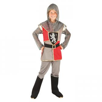 """Kinder-Kostüm """"Tapferer Ritter"""" 4-tlg."""