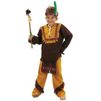 "Kinder-Kostüm ""Wilder Indianer"" 3-tlg."
