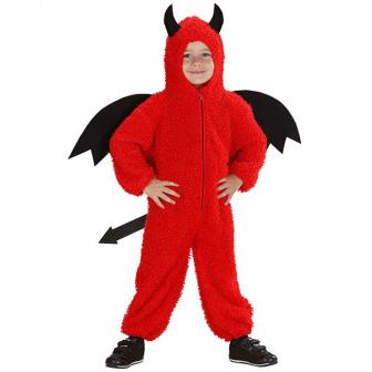 """Kinder-Plüschkostüm """"Teufel"""" 104 cm"""
