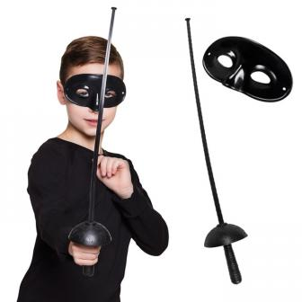 "Kinder-Set ""Maskierter Rächer"" 2-tlg."