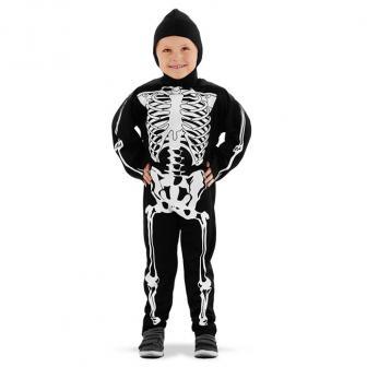 "Kinder-Kostüm ""Gruseliges Skelett"" 2-tlg."
