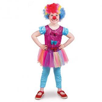"""Kinder-Kostüm """"Niedliches Clown-Mädchen"""" 2-tlg."""