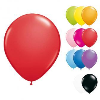 Kleine einfarbige Luftballons 13 cm 20er Pack