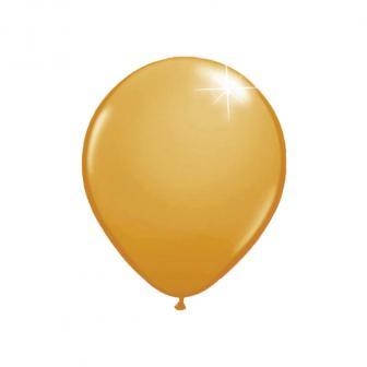 Kleine metallische Luftballons 20er Pack-gold