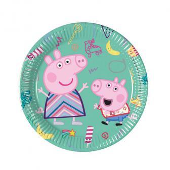 Kleine Pappteller Peppa Pig 8er Pack