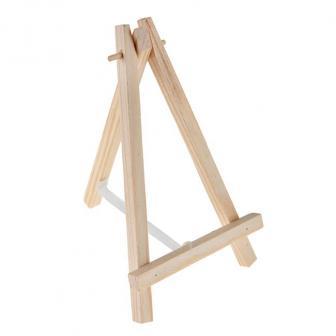 Kleine Staffelei aus Holz 14 cm