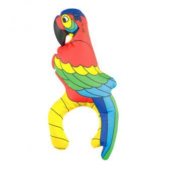 Kleiner aufblasbarer Papagei 29 cm