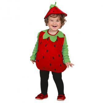 """Kleinkind-Kostüm """"Erdbeere"""" 2-tlg."""