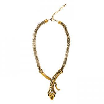 "Kleopatra Halskette ""Schlange"""