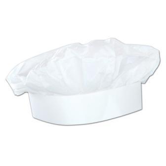 Kochmütze aus Seidenpapier 28,5 cm