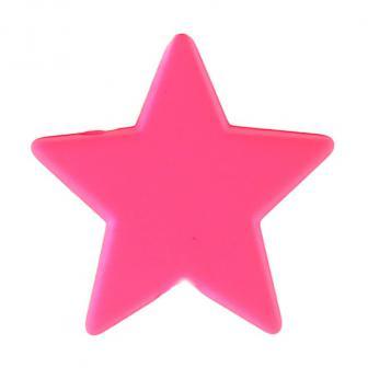 """Streuteile """"Einfarbige Sterne"""" 12er Pack-pink"""