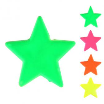 """Streuteile """"Einfarbige Sterne"""" 12er Pack"""