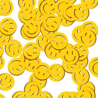 Konfetti Gelbe Smileys 28 g