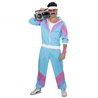 "Kostüm ""80er Jahre Style"" 2-tlg."