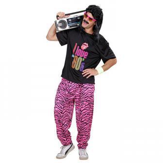 """Kostüm """"Crazy 80s"""" 2-tlg."""