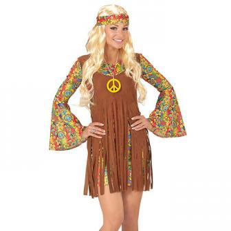 "Kostüm ""Flower Power Hippie Girl"" 3-tlg."