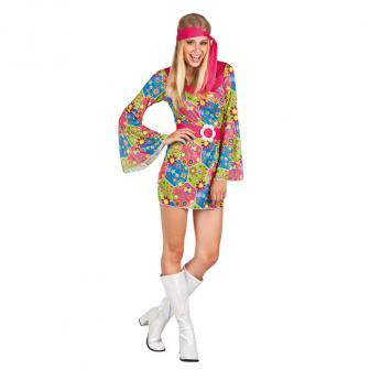 "Kostüm ""Flower Power Hippie Party"" 3-tlg."