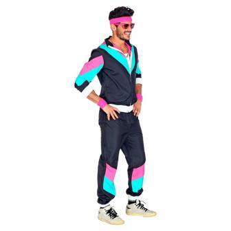 Kostüm Funky 80ies Trainingsanzug