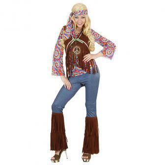 """Kostüm """"Happy Hippie"""" 4-tlg."""