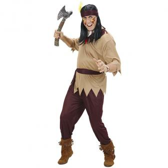 "Kostüm ""Heldenhafter Indianer"" 4-tlg."