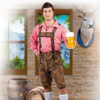 """Kostüm """"Hemd und Trachtenhose"""" 2-tlg."""