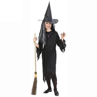 """Kostüm """"Kleine schwarze Hexe"""" 3-tlg."""