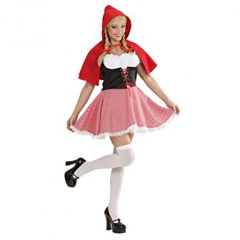 """Kostüm """"Rotkäppchen"""" 2-tlg."""