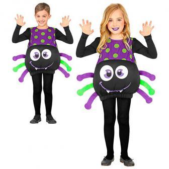 Kinder-Kostüm Schaurig-schöne Spinne 3-4 Jahre