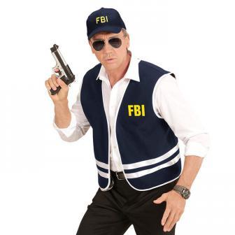 "Kostüm-Set ""FBI Agent"" 2-tlg."