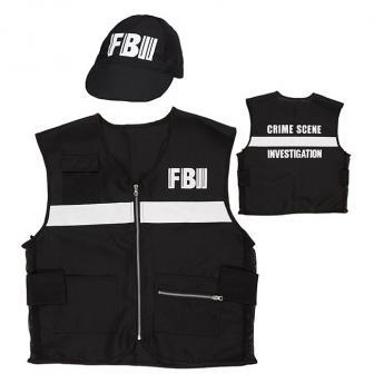 """Kostüm-Set """"FBI"""" 2-tlg."""