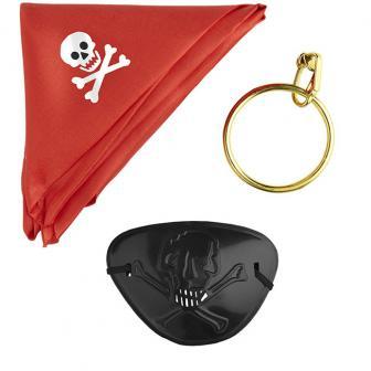"Kostüm-Set ""Piraten"" 3-tlg."