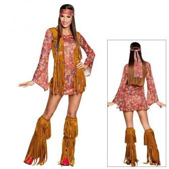 """Kostüm """"Sexy Hippie Girl"""" 4-tlg."""